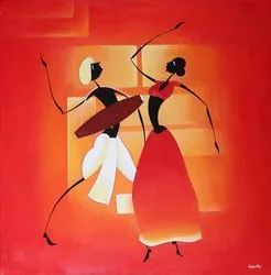 Dance On The Beat, Music Fair Painting