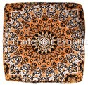 Elephant Mandala Box Cushion Cover