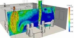 HVAC System Fluid Flow Analysis Service