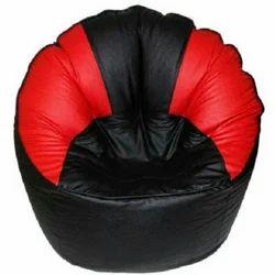 Leatherete Printed Sofa Bean Bag, Size: XXL & XXXL