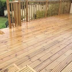 Anti Slip Wooden Decking