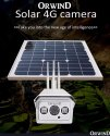 4G VoLTE Solar Camera Orwind