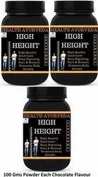 Pack of 3 High Height Increase Powder