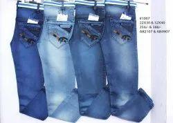 Knitting Denim Jeans