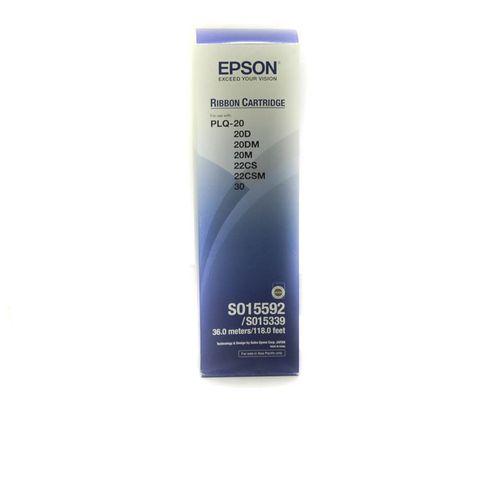 Black Epson Plq20 Genuine Ribbon Cartridge
