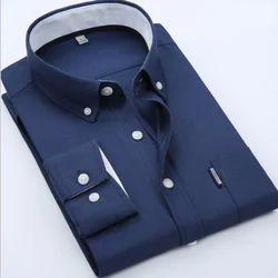 Blue Mens Fashionable Shirt