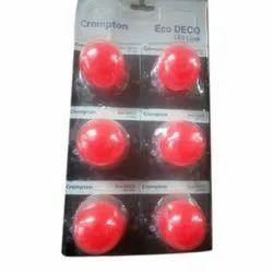 Crompton Red LED Bulbs