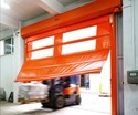 High Speed Self Repairable Roll Up Door