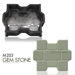 M253 Gem Stone Rubber Mould