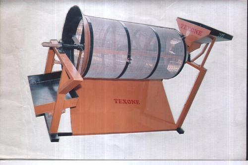 drum type sand sieve machine view specifications details of sand siever by texone foundry. Black Bedroom Furniture Sets. Home Design Ideas
