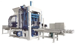 Fully Automatic Brick and Block Machine