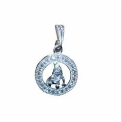 God Silver Pendent