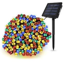Multicolor 72 Feet Solar Fairy String Decorative Diwali Light