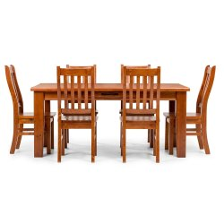 Standard Height Dining Set 6 Seater