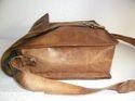 Vintage Leather Messenger Satchel Bag
