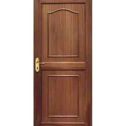 Polished Stylish Solid Wooden Door