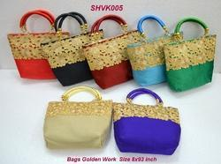 Bags Golden Work