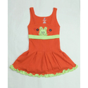 Sleeveless Cotton Baby Frock
