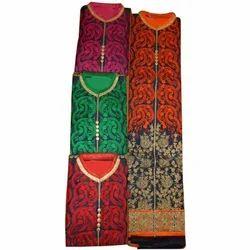 Multicolor Party wear Cotton Long Suit Material