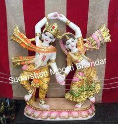 Dancing Radha Krishna Statue