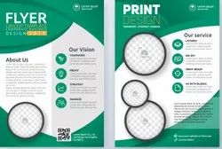 Paper BROCHURE DESIGN SERVICE, For Printing, Packaging Type: Packet