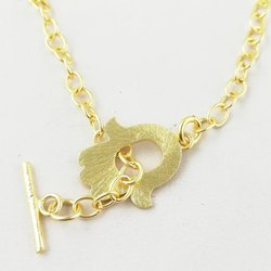 Gold Plated Hamas Design Toggle Clasps