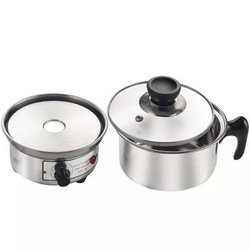 Silver Color Electric Multi Traveling Cooker