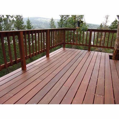 Wooden Balcony at Rs 3000 /square feet   Balcony Railing ...