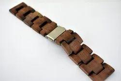 Unisex Walnut Wooden Strap/Belt for Wrist Watches