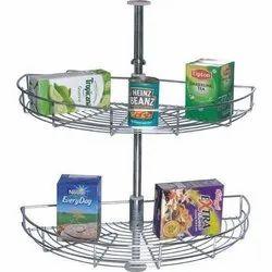 Corner Carousel Basket