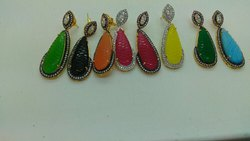 Colour Stone Earrings