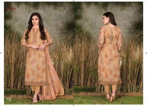 b175a71950 Party Wear Rivaa Sarika Fancy Salwar Suit, Rs 1355 /set | ID ...