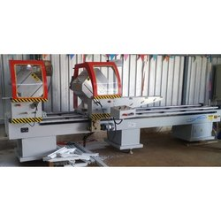 Double Mitre Saw Machine