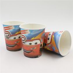 Disney Car Theme Birthday Party Paper Cups And Glasses