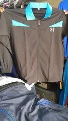 Collar Neck Mens Lycra Full Sleeves T Shirt, Size: S-XXL