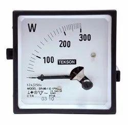 Anolog watt meter