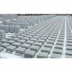 Rectangular AVS 8 Inch Concrete Solid Blocks, Size: 400 x 200 x 100 mm