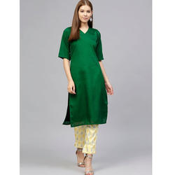 Ladies Green Suit