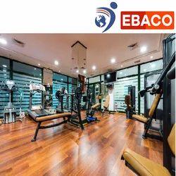 Ebaco Gym Cardio Area Vinyl Flooring, Thickness: 4 To 10 Mm