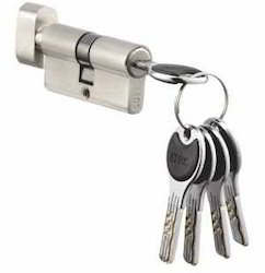 Zinc Lever Handle Mortise Lock Cylinder, For Door Fitting