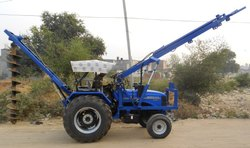 Sunrise Vertical Tractor Fitted Post Hole Digger, Model Number/Name: G7u