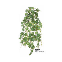 Green Artificial Maple Bush Plant Rs 1100 Number Silver Spring