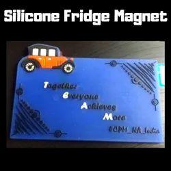 Silicone (Rubber)  Fridge Magnet