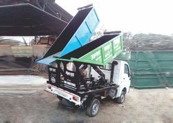 Twin Bin Hopper With Hydraulic System