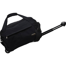 Goblin Salsa 49 Black Duffel Strolley Bag  (Black)