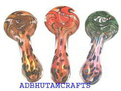 Fancy Gold Fumed Pipes, 4.5, 100 Grams