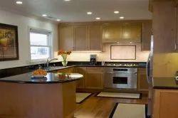 G Shaped Modular Kitchen, Warranty: 5-10 Years