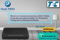 TEC Certification for Modem