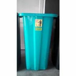 Open Top Ercon Plastic Dustbin, for Outdoor