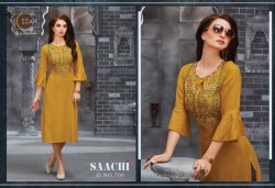 10AM Embroidered Kurti